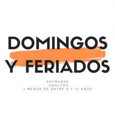 ENTRADA DOMINGOS Y FERIADOS